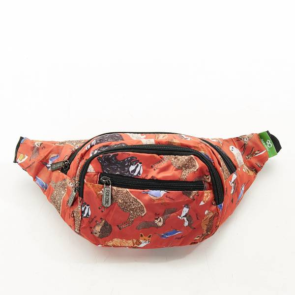 H02 Red Woodland Bum Bag x2