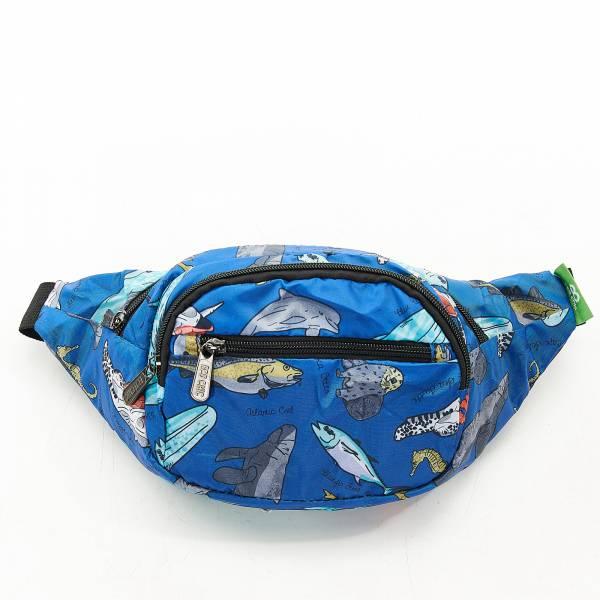H05 Blue Sea Creatures Bum Bag x2