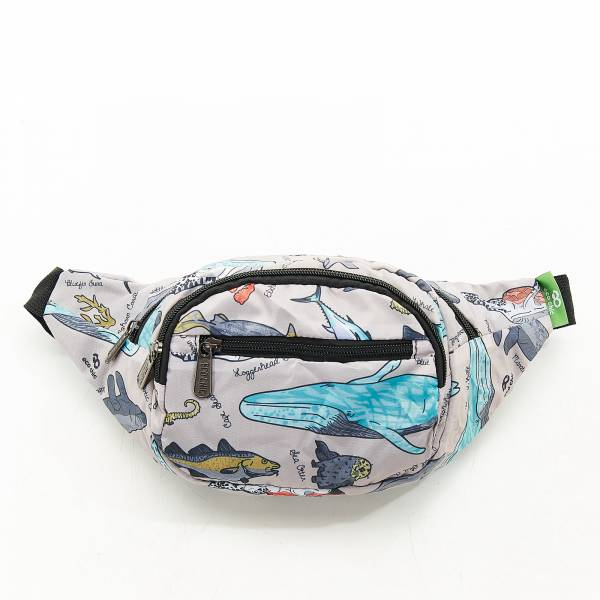 H05 Grey Sea Creatures Bum Bag x2