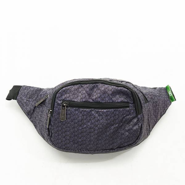 H06 Black Disrupted Cubes Bum Bag x2