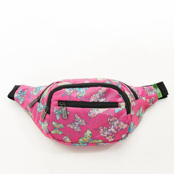 H07 Fuchsia Butterfly Bum Bag X2