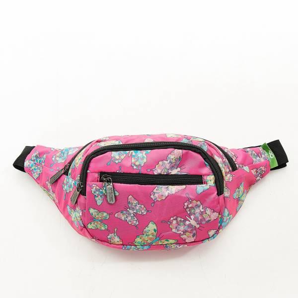 H07 Fuchsia Butterfly Bum Bag X2