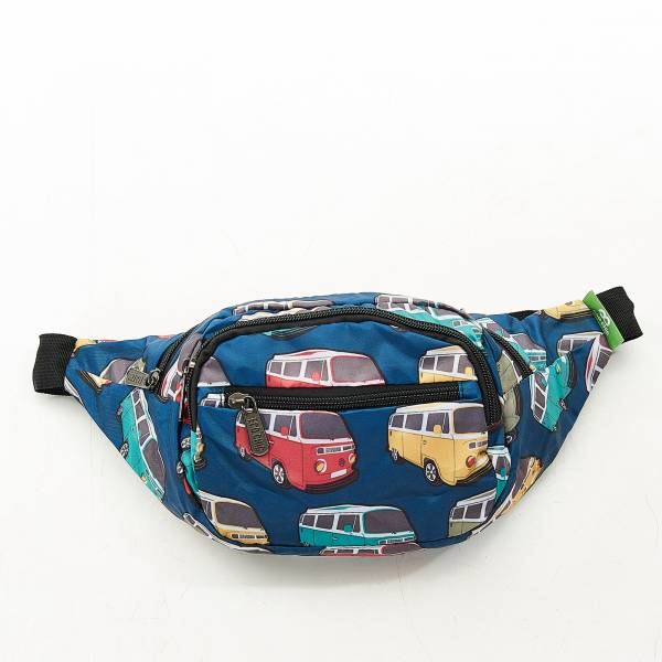 H11 Teal Camper Vans Bum Bag x2