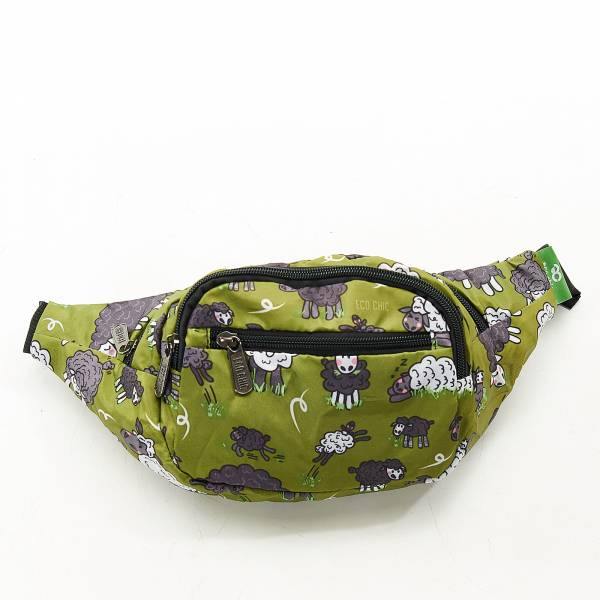 H12 Green Sheep Bum Bag x2