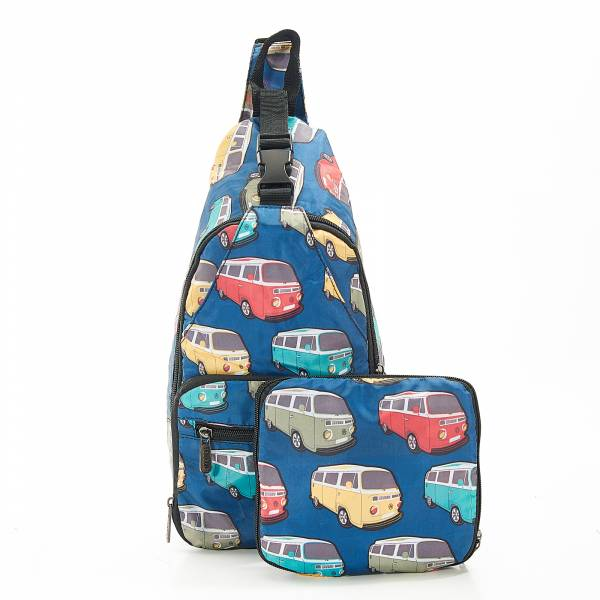 I11 Teal Camper Vans Cross Body x2