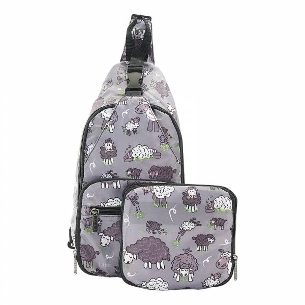 I12 Grey Sheep Cross Body x2
