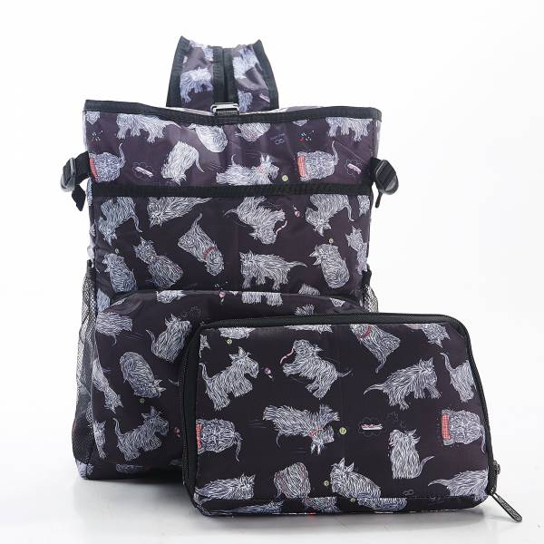J02 Black Scatty Scotty Cool Backpack