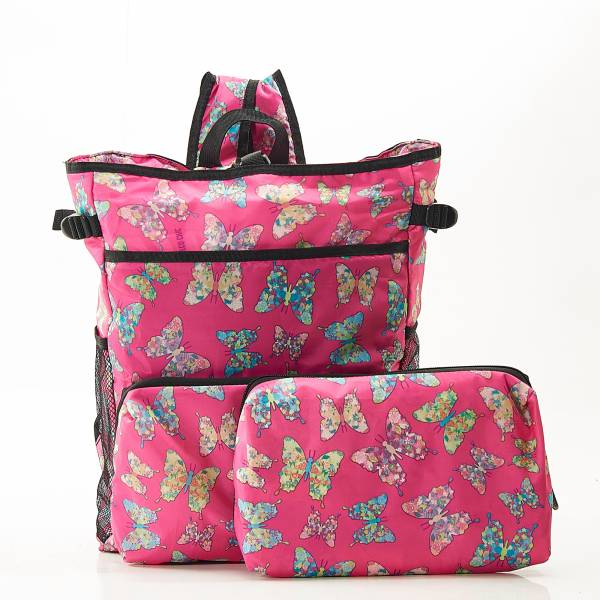 J05 Fuchsia Butterfly Cool Backpack