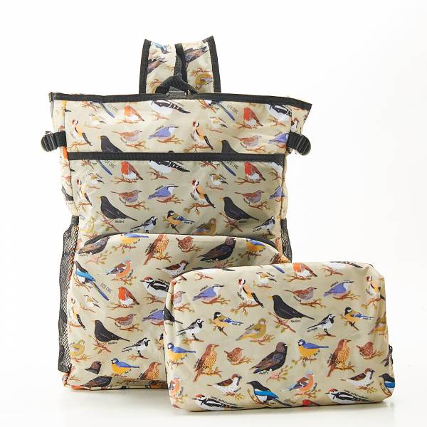 J06 Green Wild Birds Cool Backpack