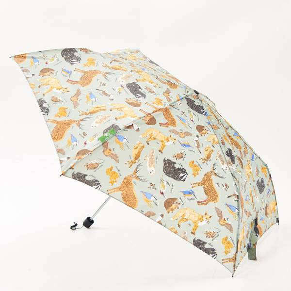 K01 Olive Woodland Mini Umbrella x2