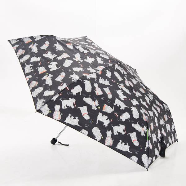 K03 Black Scatty Scotty Mini Umbrella x2