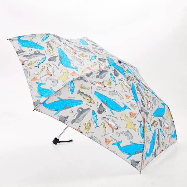 K05 Blue Sea Creatures Mini Umbrella x2