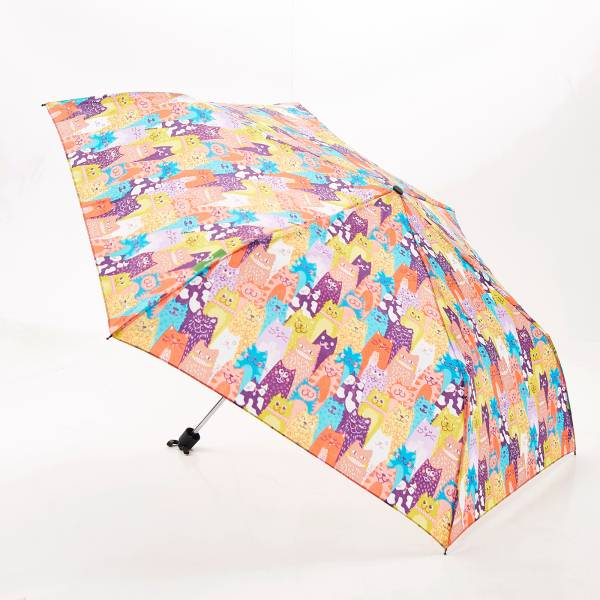 K06 Multiple Stacking Cats Mini Umbrella x2