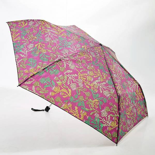 K10 Purple Thistle Mini Umbrella x2