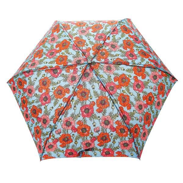 K15 Blue Poppies Mini Umbrella x2