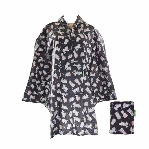 L03 Black Scatty Scotty Ponchos x2