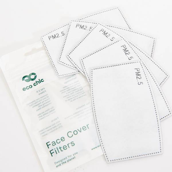 M88 Face Cover 5 Filters Set 12x8cm
