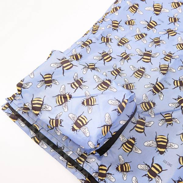 P01 Blue Bee Picnic Blanket