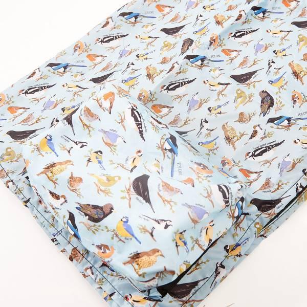 P04 Blue Bird Picnic Blanket