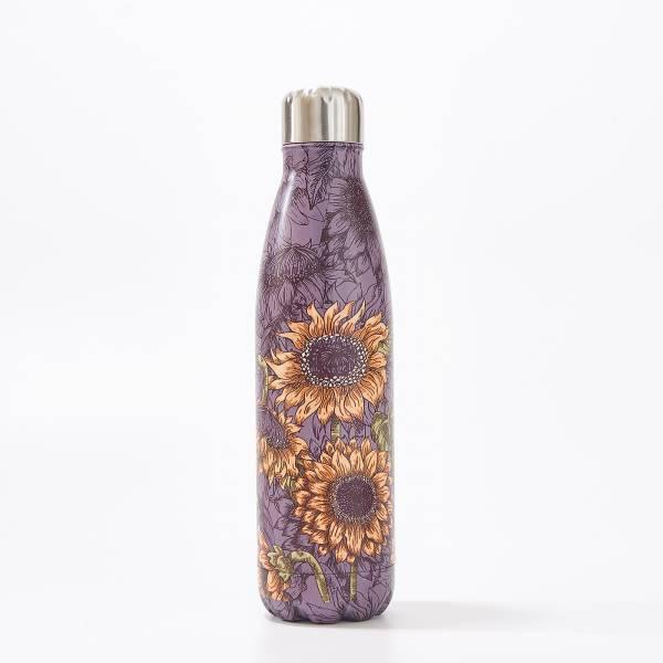 T22 Purple Sunflower Thermal Bottle