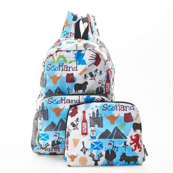 B22 White Scottish Montage Backpack x2