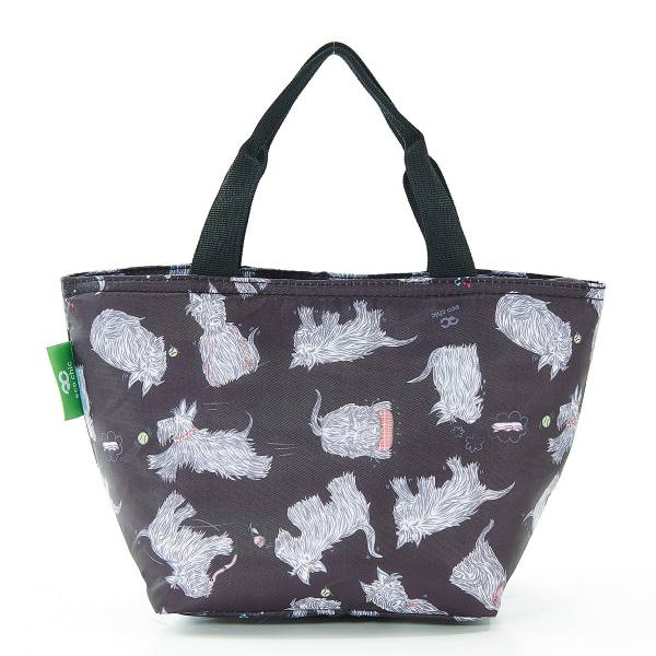 C08 Black Scatty Scotty Lunch Bag x2