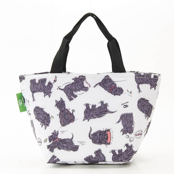 C08 White Scatty Scotty Lunch Bag x2