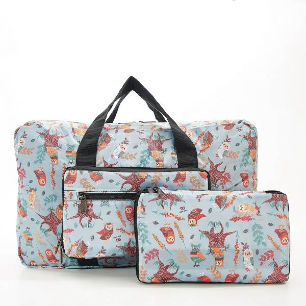 D07 Blue Owl Holdall x2