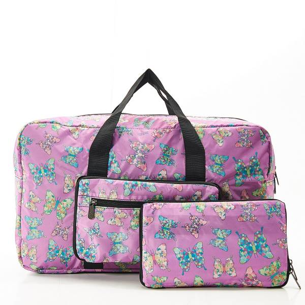 D14 Lilac Butterfly Holdall x2