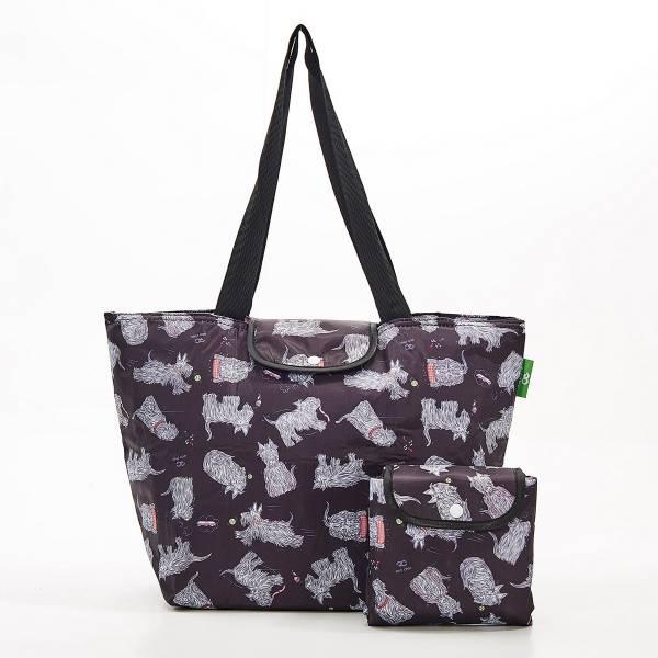 E04 Black Scatty Scotty Large Cool Bag x2