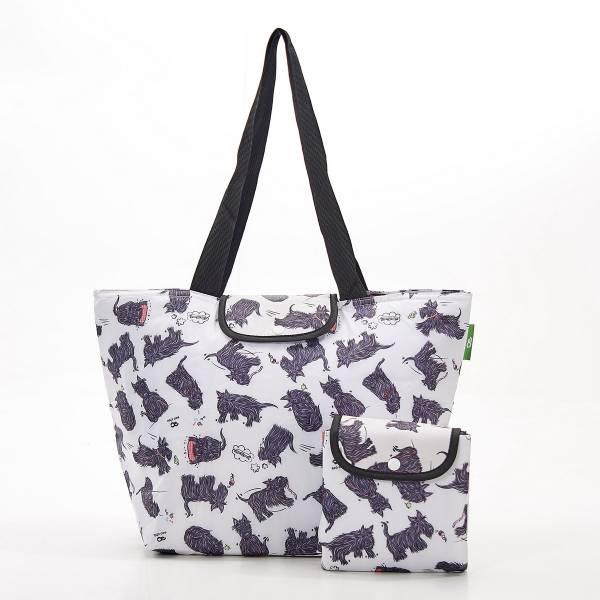 E04 White Scatty Scotty Large Cool Bag x2