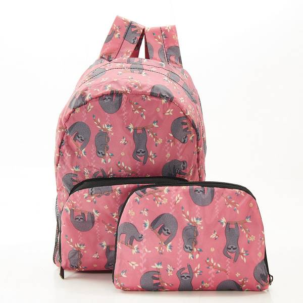 G09 Red Sloth Lunch Backpack Mini x2
