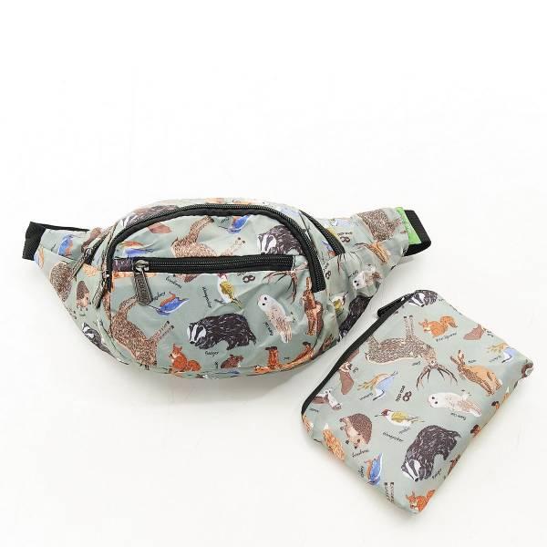 H02 Olive Woodland Bum Bag x2