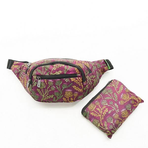 H08 Purple Thistle Bum Bag x2