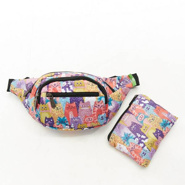 H10 Multiple Stacking Cats Bum Bag x2