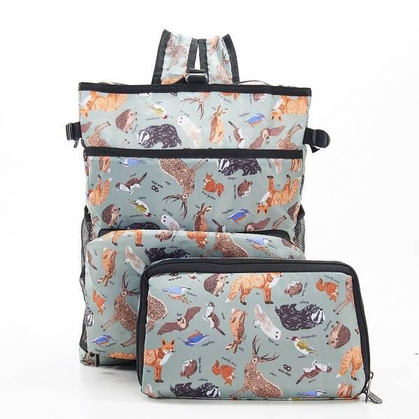 J01 Olive Woodland Cool Backpack