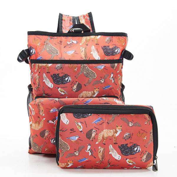 J01 Red Woodland Cool Backpack