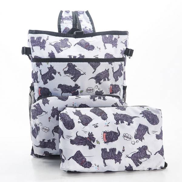 J02 White Scatty Scotty Cool Backpack