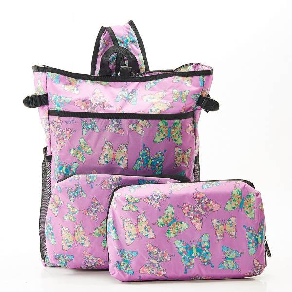 J05 Lilac Butterfly Cool Backpack