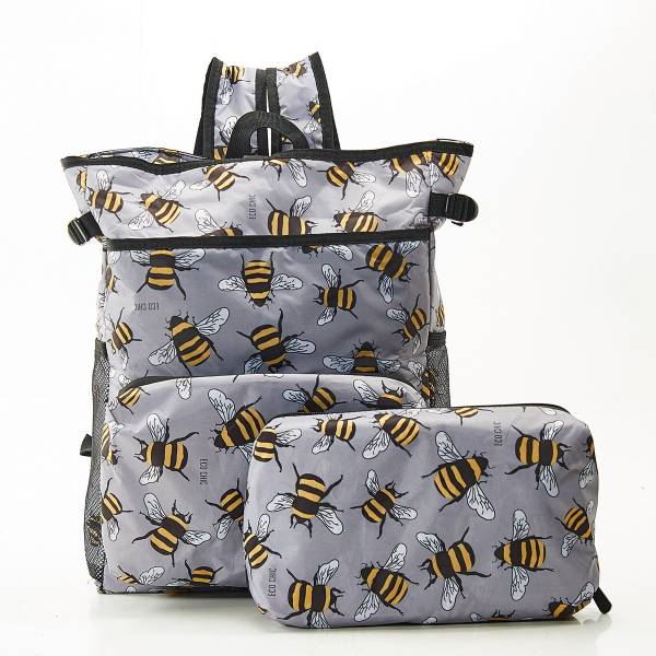 J10 Grey Bees Cool Backpack