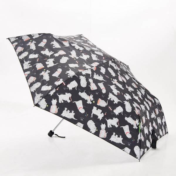 K03 Black Scatty Scotty Mini Umbrella x2