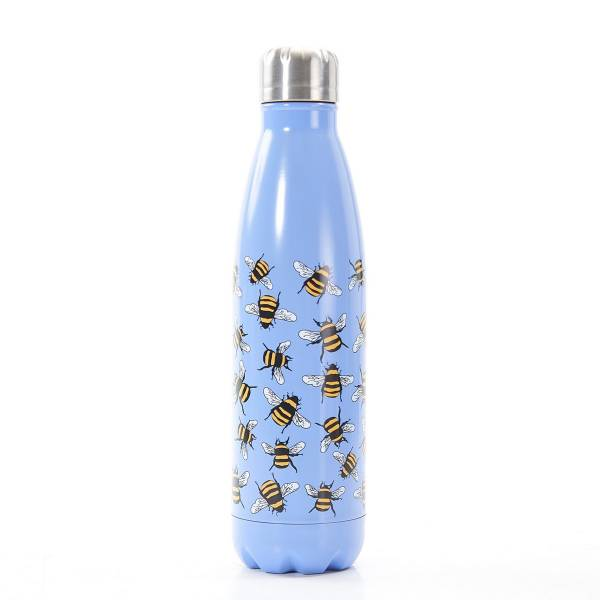 T02 Blue Bee Thermal Bottle