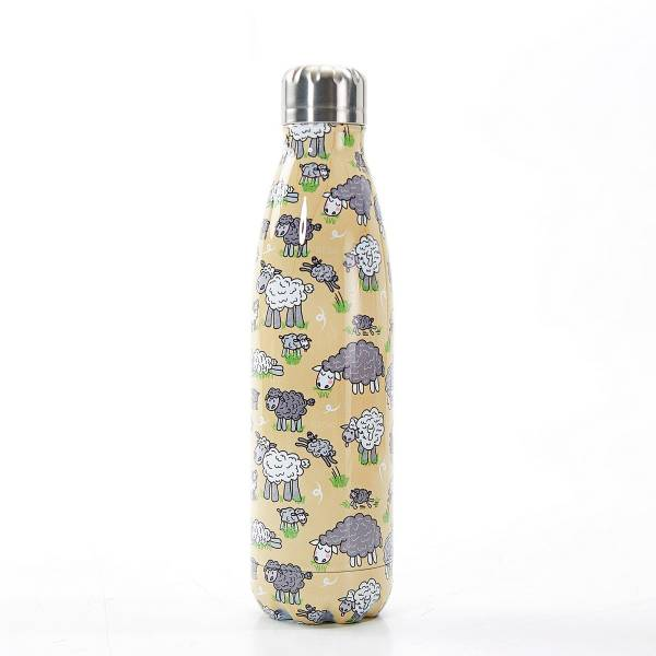 T17 Beige Sheep Thermal Bottle